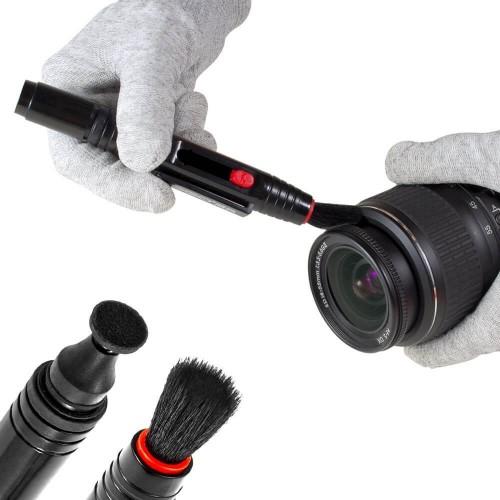 VSGO DKL-15 Grey набор путешественника для чистки оптики цвет-серый