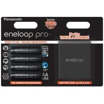 Аккумулятор PANASONIC Eneloop Pro AA 2500 4BP с кейсом