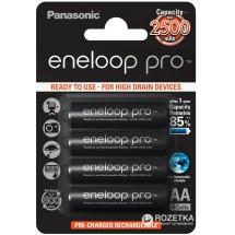Аккумулятор PANASONIC Eneloop Pro AA 2500mAh 4 шт.