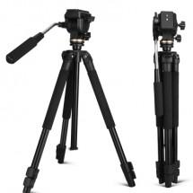 QZSD Q310 штатив с видеоголовой с максимальной высотой 152 см