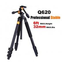 QZSD Q620 профессиональный штатив с 3D-головой и нагрузкой до 20 кг