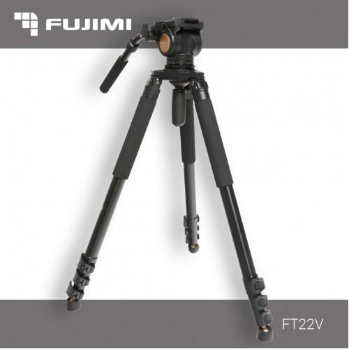 Fujimi FT22V Профессиональный видеоштатив с панорамной головой