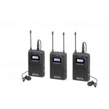 Boya BY-WM8 PRO-K2 Двухканальная беспроводная микрофонная система UHF