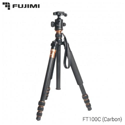 Fujimi FT100C Компактный штатив 3 в 1 (штатив, монопод, ручной стабилизатор) 1580мм