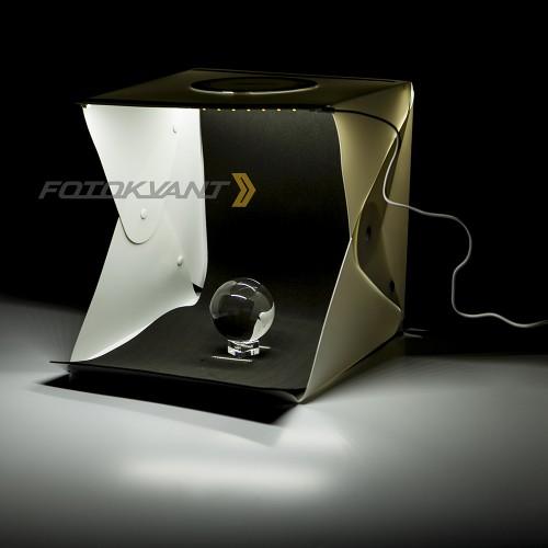 Fotokvant BOX-30LED фотобокс 30 см c 2xLED освещением и 2 фонами