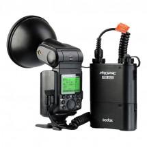 Godox AD360II-N kit Witstro 360W TTL вспышка для Nikon комплект