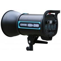 Вспышка студийная GRIFON zXz-300 (300Дж+пилот:150Вт) байонет BOWENS (1/32-1/1, 1/2000s-1/800s; 0,3-1,2s)