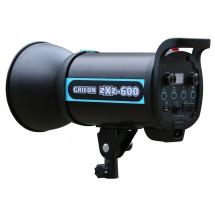 Вспышка студийная GRIFON zXz-600 (600Дж+пилот:150Вт) байонет BOWENS (1/32-1/1, 1/2000s-1/800s; 0,3-1,2s)