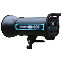 Вспышка студийная GRIFON zXz-800 (800Дж+пилот:150Вт) байонет BOWENS (1/32-1/1, 1/2000s-1/800s; 0,3-1,2s)