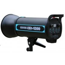 Вспышка студийная GRIFON zXz-1200 (1200Дж+пилот:150Вт) байонет BOWENS (1/32-1/1, 1/2000s-1/800s; 0,3-1,2s)