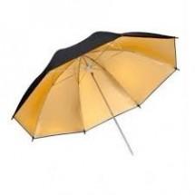 Зонт GRIFON G-84 (84/100см) золото на отражение
