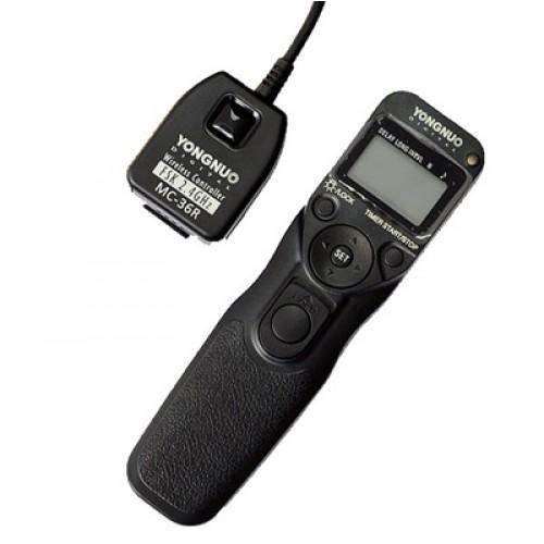 Многофункциональный безпроводной пульт ДУ для Nikon Yongnuo MC-36R (N3)