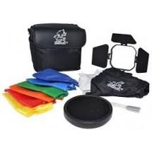 Набор ( шторки, софтбокс, фильтры, соты, сумка ) GRIFON FGA-K5