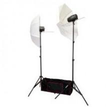 FUJIMI FJ SK2150U Готовый набор для фотостудии 300 Дж (моноблок, зонт, стойка, сумка)