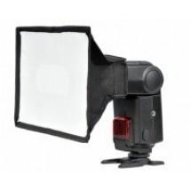 Софтбокс GRIFON SB 1520 - 15х20см для накамерных фотовспышек (крепление-лента)