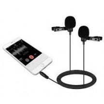 Boya BY-LM400 Двойной петличный микрофон для смартфона