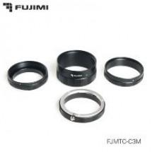 Fujimi FJMTC-C3M Набор удлинительных колец для макросъёмки на систему EOS 9мм, 16мм, 30мм (ручная фокусировка)