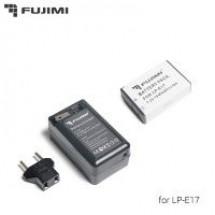 Fujimi LP-E17 + ЗУ Аккумулятор для фото и видео камер в комплекте с ЗУ
