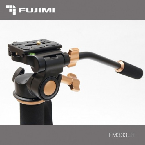 Fujimi FM333LH Алюминиевый монопод с 3-х точечным упором и видео-головой